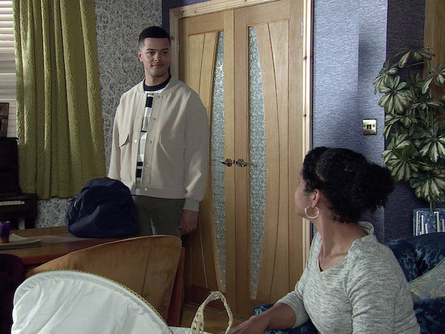 Danny and Grace on the first episode of Coronation Street on July 21, 2021