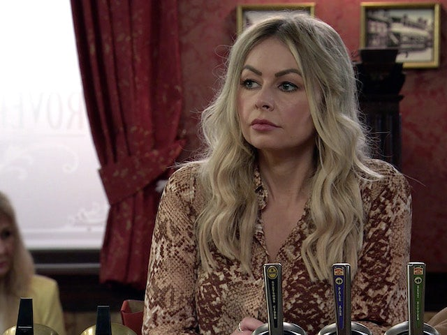 Laura on the first episode of Coronation Street on July 21, 2021