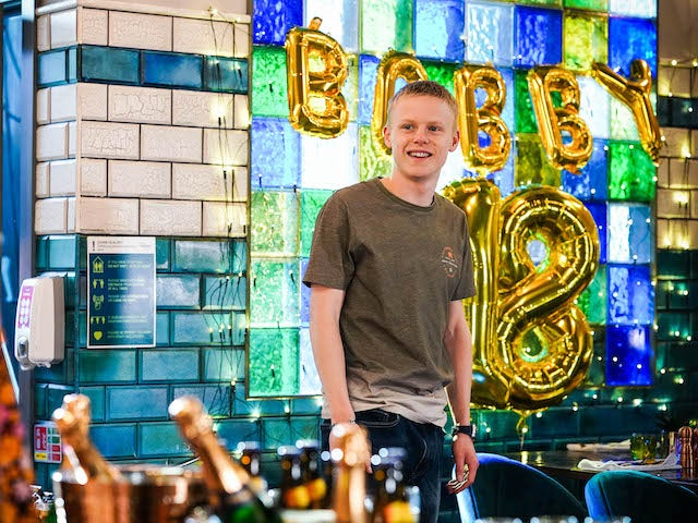 Bobby on EastEnders on July 22, 2021