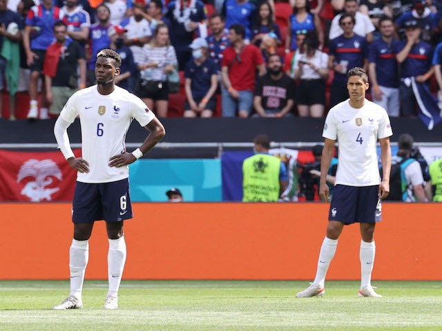 Pogba, Varane 'involved in France bust-up amid Man United links'