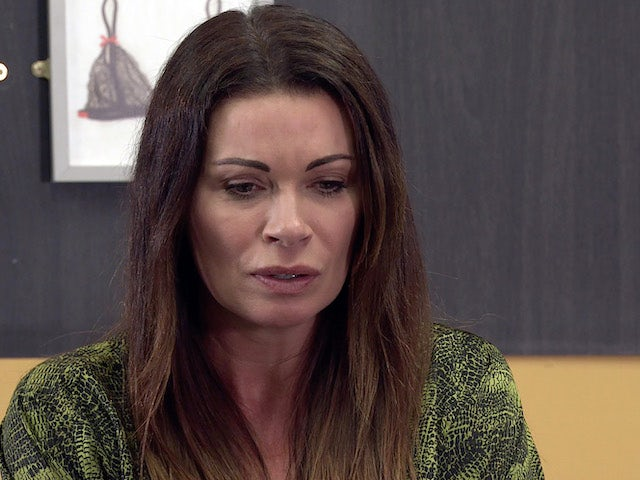 Carla on the second episode of Coronation Street on August 2, 2021