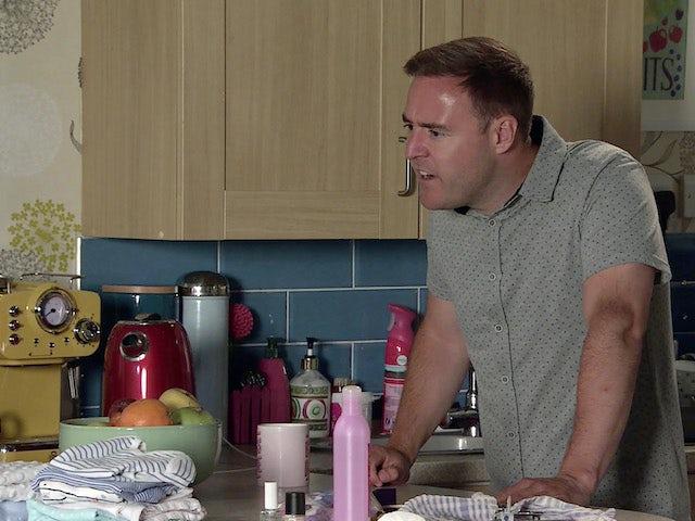 Tyrone on the first episode of Coronation Street on August 2, 2021