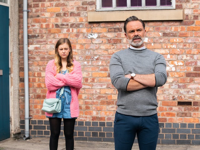 Summer and Billy on the second episode of Coronation Street on July 28, 2021