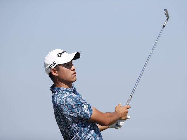 Collin Morikawa moves into a three-shot lead at the Open