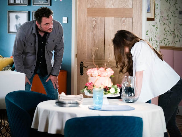 Martin and Ruby on EastEnders on July 30, 2021