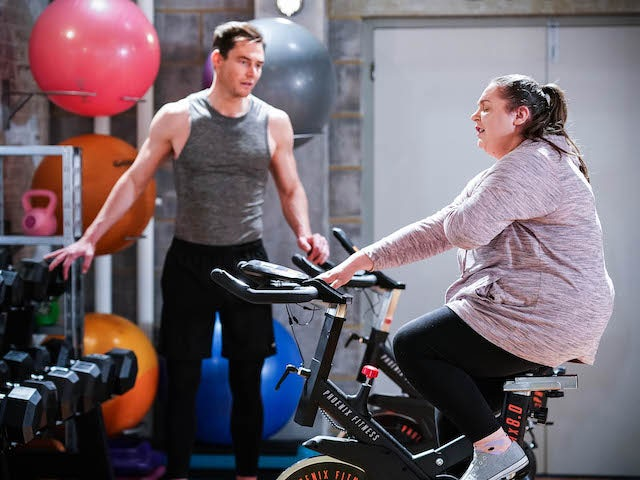 Zack and Bernie on EastEnders on July 26, 2021