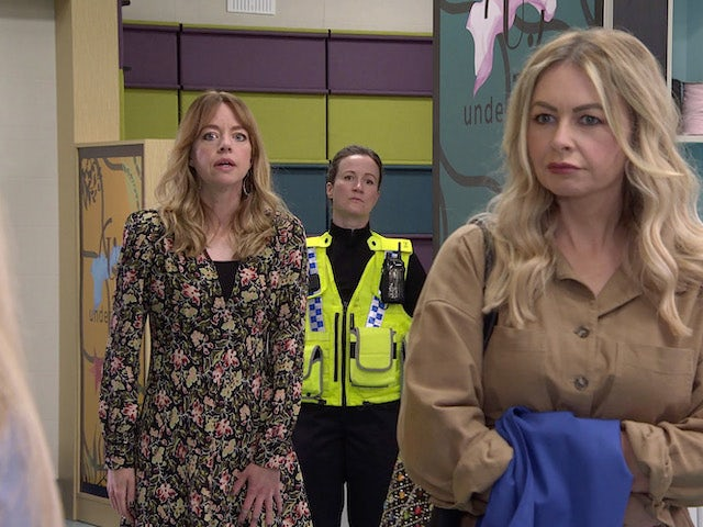 Toyah and Laura on the second episode of Coronation Street on July 26, 2021