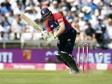 England's Jos Buttler in action against Pakistan on July 18, 2021