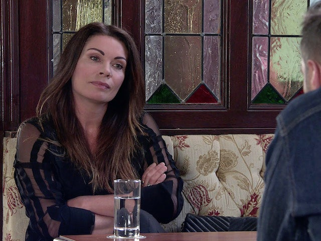 Carla on the second episode of Coronation Street on August 4, 2021