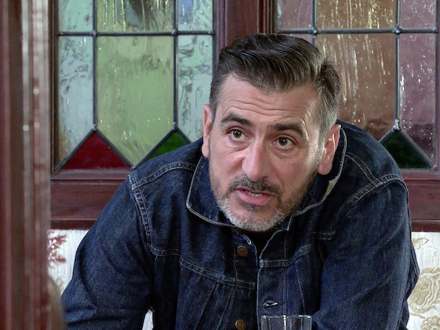 Peter on the second episode of Coronation Street on August 4, 2021