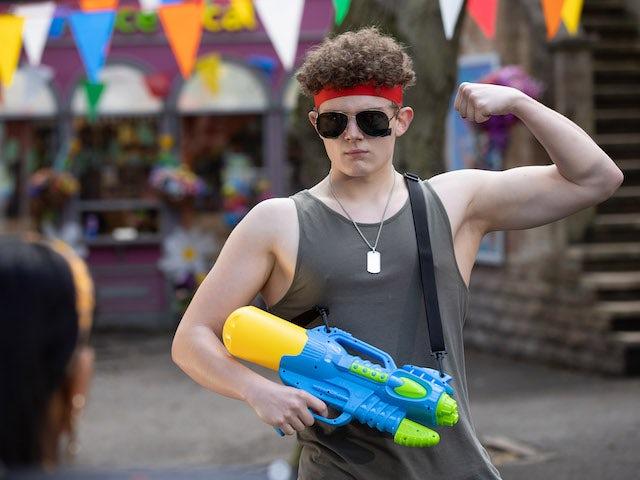 Tom on Hollyoaks on July 19, 2021