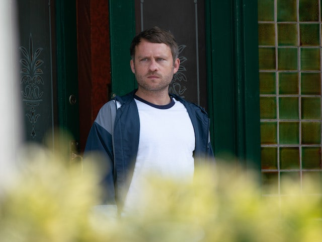 Paul on the second episode of Coronation Street on July 28, 2021