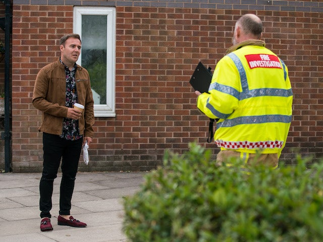 Tyrone on the first episode of Coronation Street on August 4, 2021