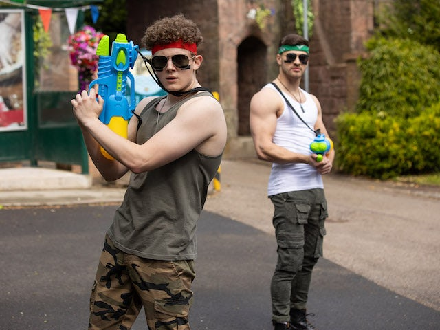 Tom and Romeo on Hollyoaks on July 19, 2021