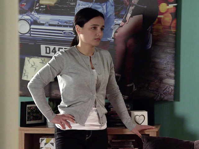 Alina on the first episode of Coronation Street on August 2, 2021