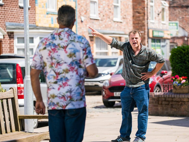 Steve and Dev on the second episode of Coronation Street on August 6, 2021