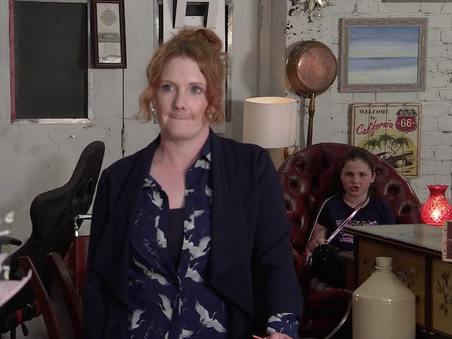 Fiz and Hope on the first episode of Coronation Street on July 26, 2021