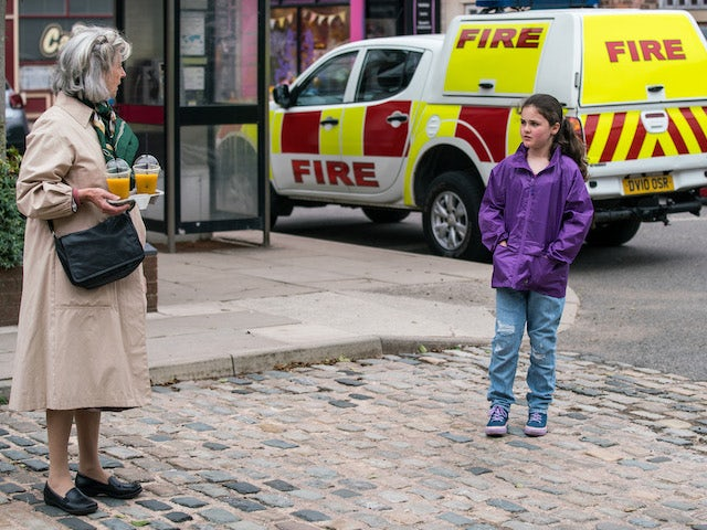 Hope on the second episode of Coronation Street on August 4, 2021
