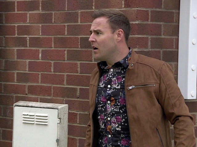 Tyrone on the second episode of Coronation Street on August 2, 2021