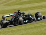 Lewis Hamilton in action during the British Grand Prix on July 18, 2021
