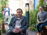 Todd, Paul and Billy on the first episode of Coronation Street on July 28, 2021