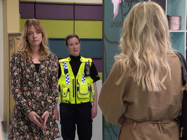 Toyah on the second episode of Coronation Street on July 26, 2021