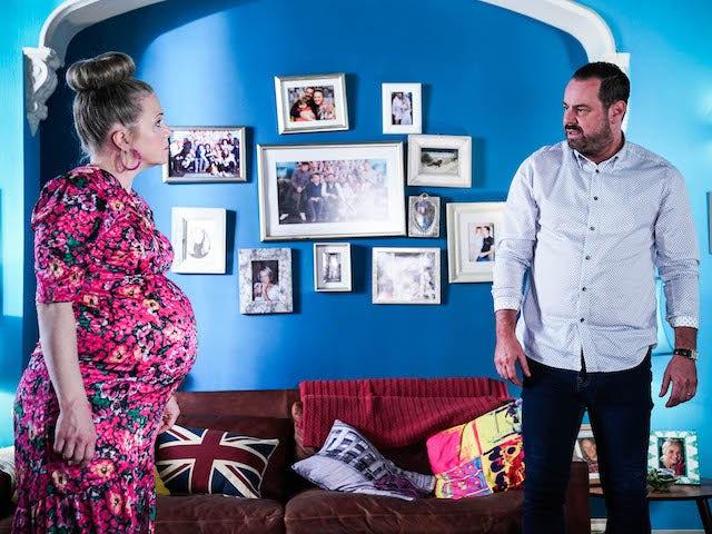 Mick and Linda on EastEnders on July 27, 2021