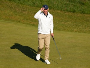 English trio share early lead at Royal St George's