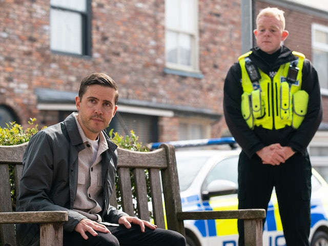 Todd and Craig on the second episode of Coronation Street on July 28, 2021