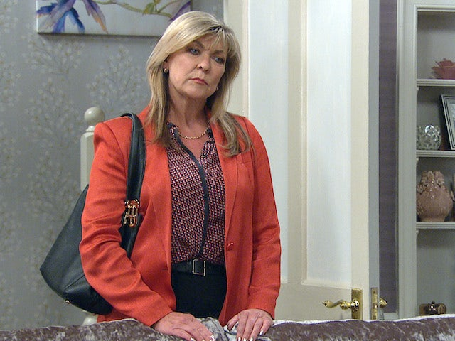 Kim on the second episode of Emmerdale on July 29, 2021