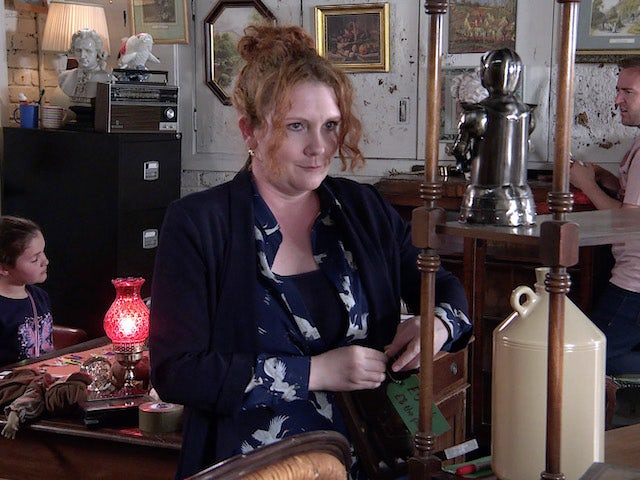 Fiz on the second episode of Coronation Street on July 26, 2021