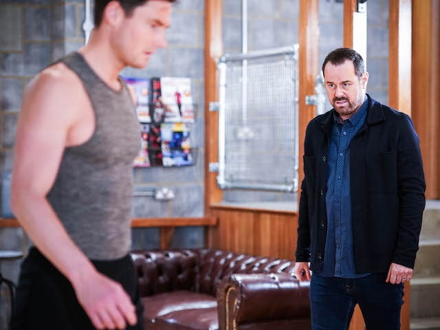 Zack and Mick on EastEnders on July 26, 2021