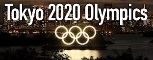 Tokyo 2020 Olympics AMP header dull
