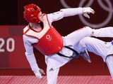 Bradly Sinden in action for Team GB on July 25, 2021