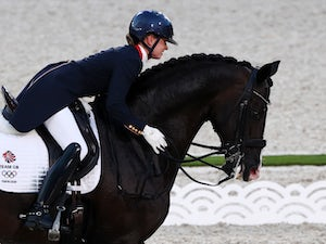 Charlotte Fry stars on Olympic debut to reach dressage final
