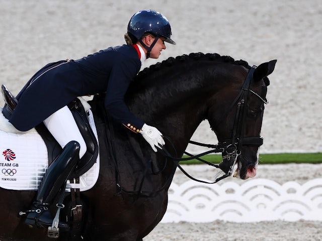 Tokyo 2020: Charlotte Dujardin 'proud' to set Olympic history