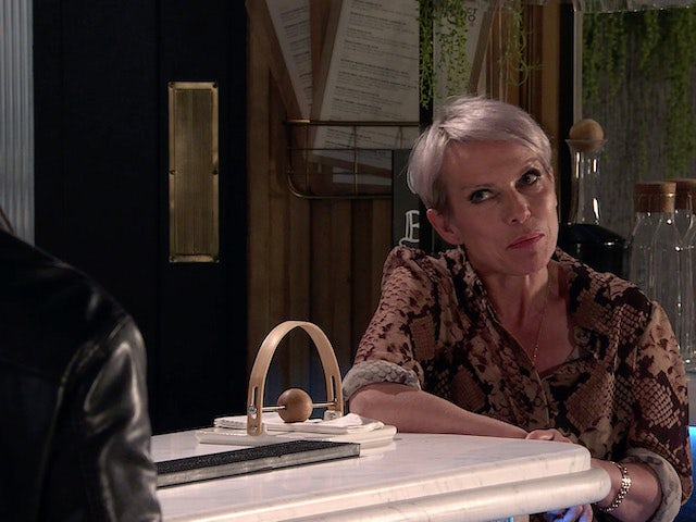 Debbie on the second episode of Coronation Street on August 11, 2021