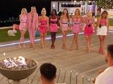 The girls await their fate on Love Island S07E22
