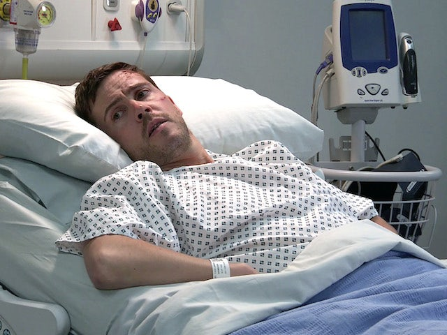 Todd on the second episode of Coronation Street on August 9, 2021