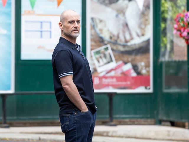 Fergus on Hollyoaks on July 29, 2021