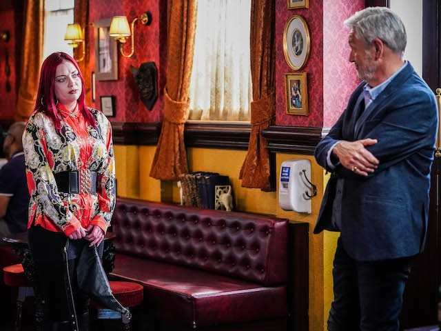 Whitney and Rocky on EastEnders on August 5, 2021