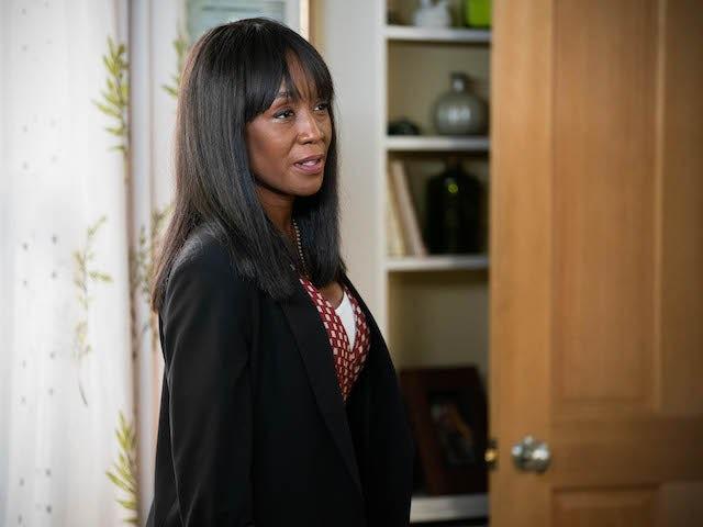 Denise on EastEnders on August 3, 2021