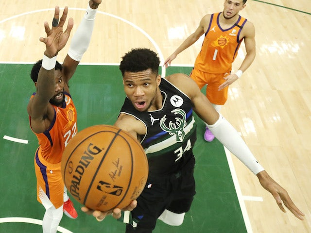 Result: Milwaukee Bucks beat Phoenix Suns to win NBA championship