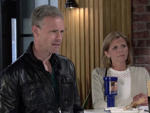 Nick and Leanne on the second episode of Coronation Street on August 11, 2021
