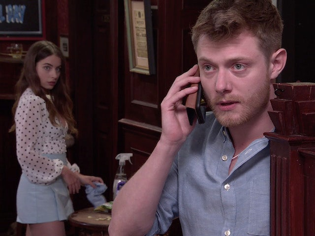 Daisy and Daniel on the second episode of Coronation Street on August 11, 2021