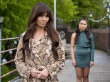 Mercedes and Cher on Hollyoaks on July 28, 2021