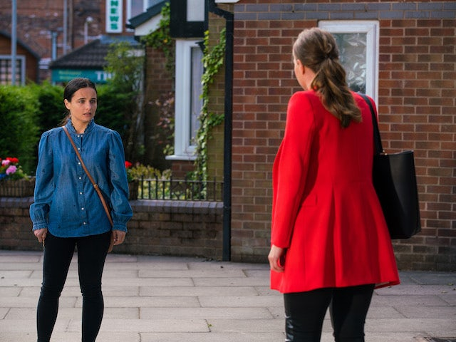 Alina on the second episode of Coronation Street on August 11, 2021