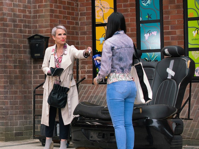 Debbie on the first episode of Coronation Street on August 9, 2021