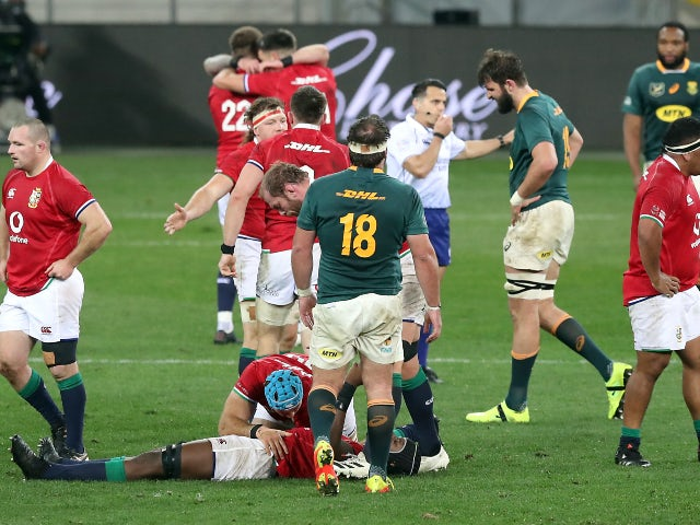 Five talking points ahead of the Lions' second South Africa Test