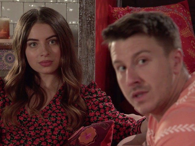 Daisy and Ryan on the second episode of Coronation Street on August 9, 2021